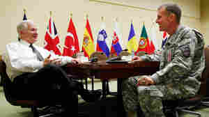 Gen. Stanley McChrystal meets with Defense Secretary Robert M. Gates