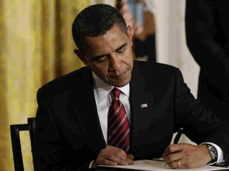 President Obama, on Jan. 30, 2009, signed executive orders reversing Bush labor policies.