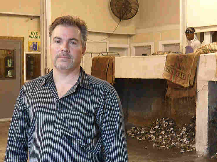 Al Sunseri, president of P & J Oysters in New Orleans, ran out of suppliers this week.