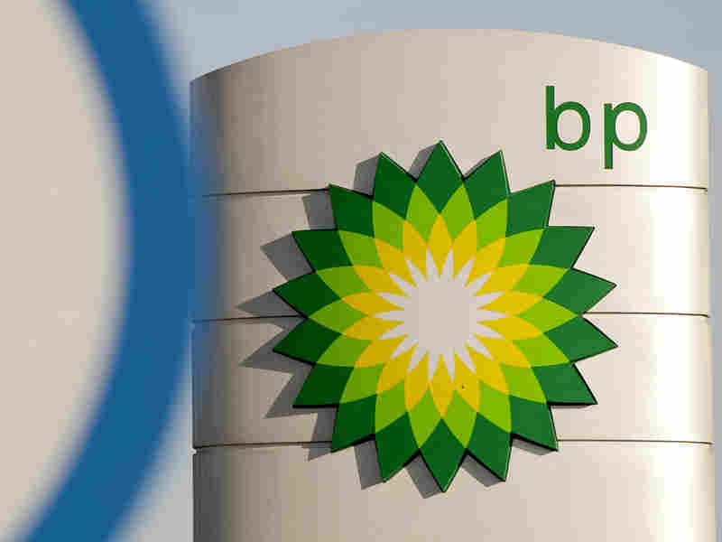 BP station in Heston, southern England