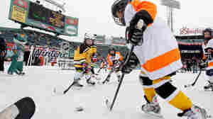 In Youth Hockey, 'Checking' Ups Risk Of Brain Injury