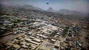 Aerial view of Kandahar city