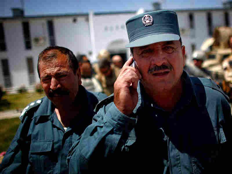 Kandahar's police chief, Sardar Mohammad Zazai