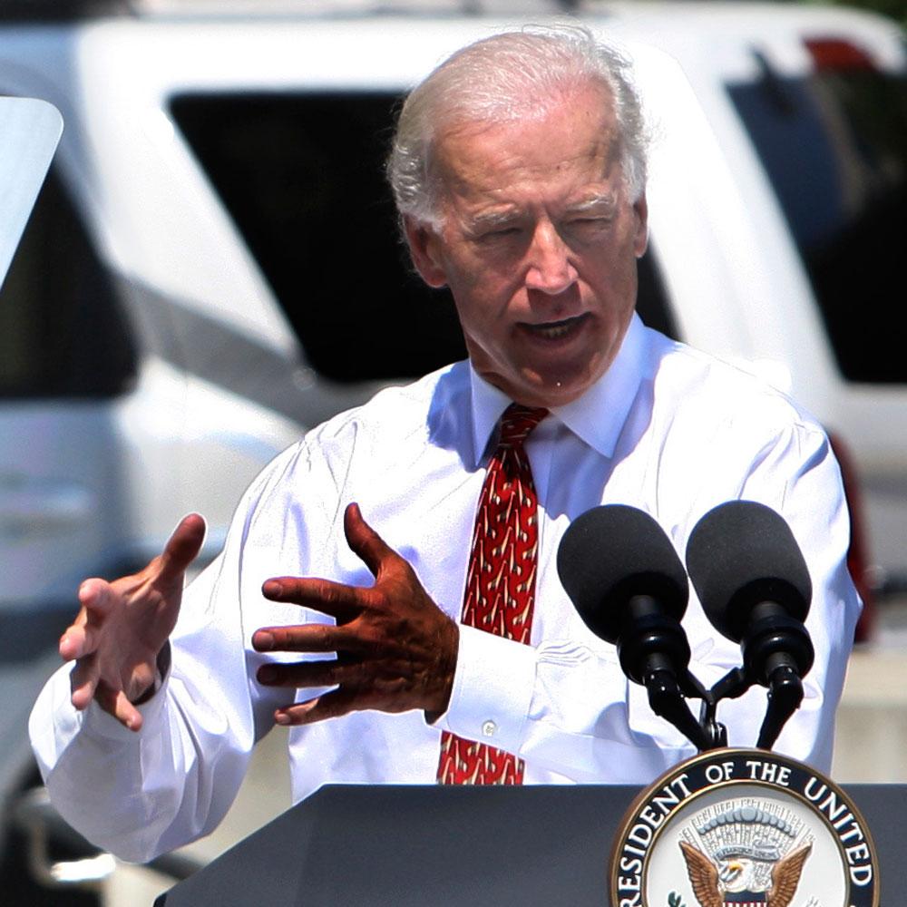 Vice President Joe Biden in Detroit last year, announcing grants for battery producers.
