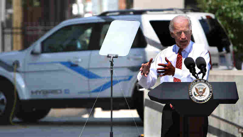 Vice President Joe Biden in Detroit last year, announcing grants for battery producers.