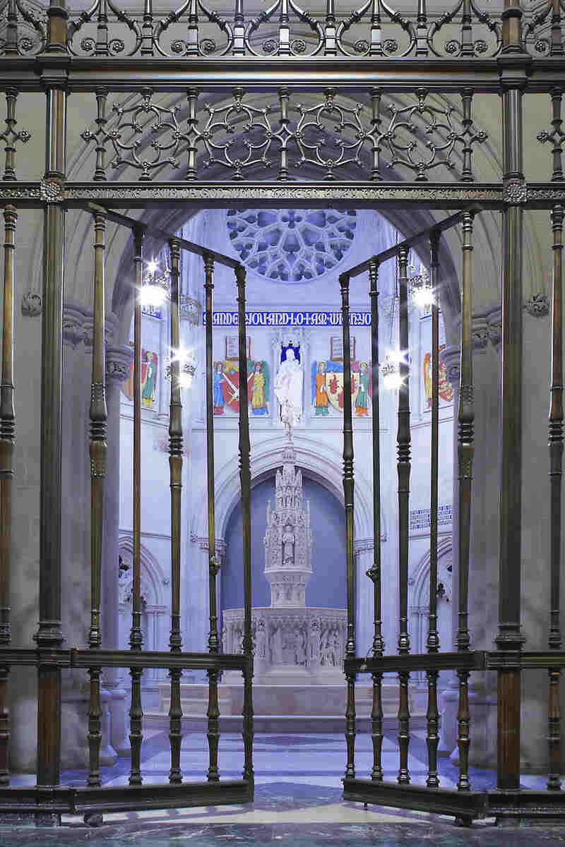 The gate to a baptistery in New York City is now open to the public.