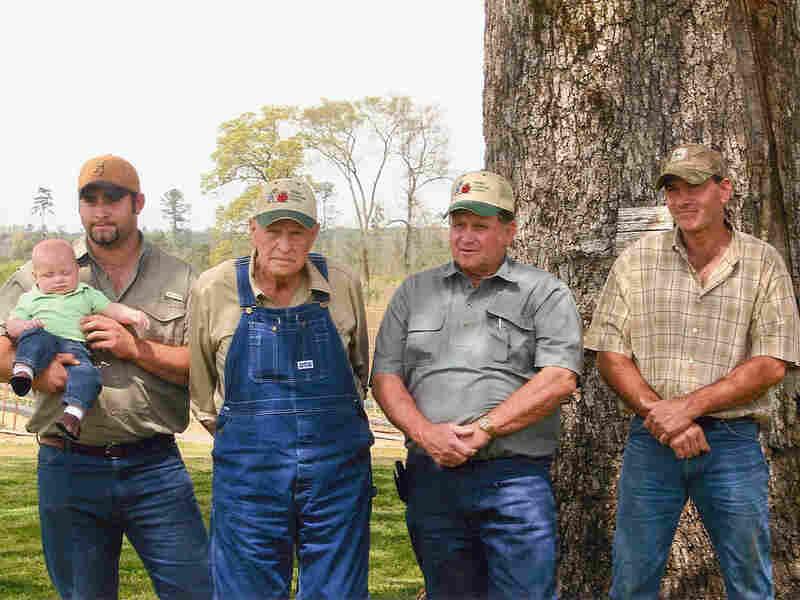 Members of the Clanton family, who own Clanton Farms