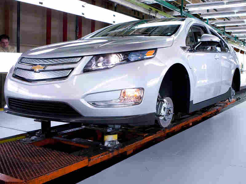 Chevrolet's electric Volt
