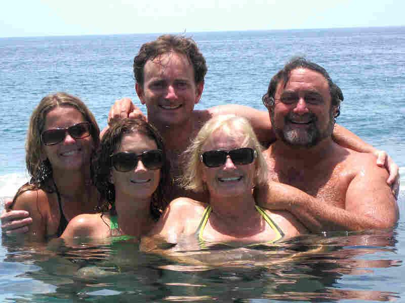 Jim Fallon with his family