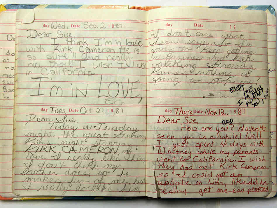A Prescription For A Belly Laugh My Childhood Diary Npr