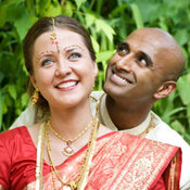 Rochelle and Varnesh Sritharan. Courtesy of Meghan Doll Photography.