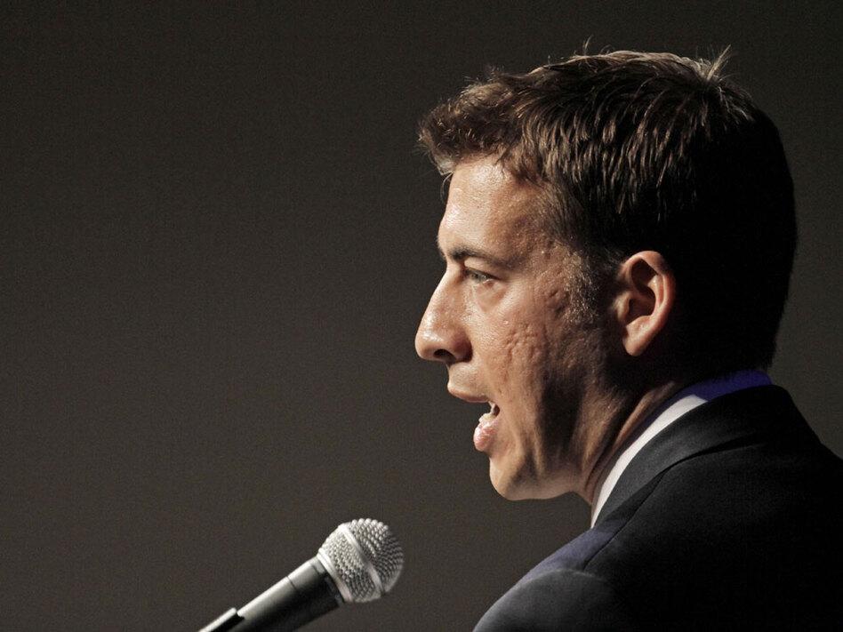 Democrat Alexi Giannoulias, the Illinois state treasurer, is running for President Obama's former Senate seat.