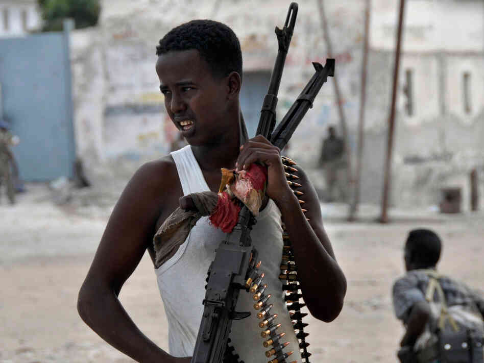 Somali government soldier