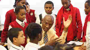 Harlem Children's Zone CEO and founder Geoffrey Canada