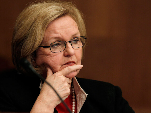 Missouri Democrat Sen. Claire McCaskill is leading a drive to do away with secret holds altogether.