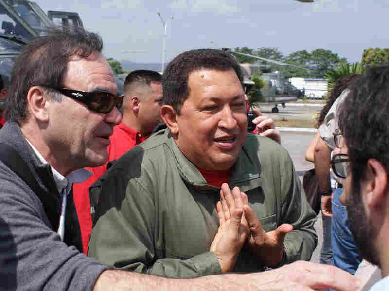 Oliver Stone and Hugo Chavez