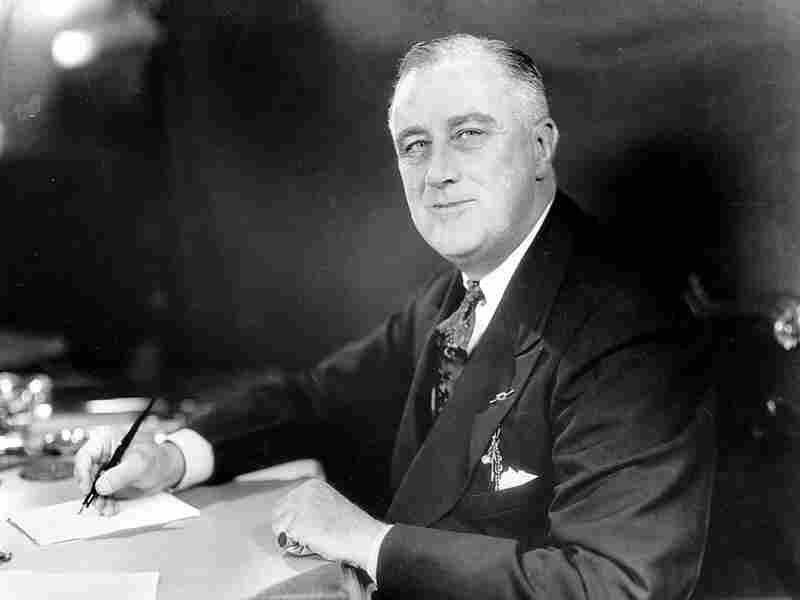 President Franklin Delano Roosevelt in 1973