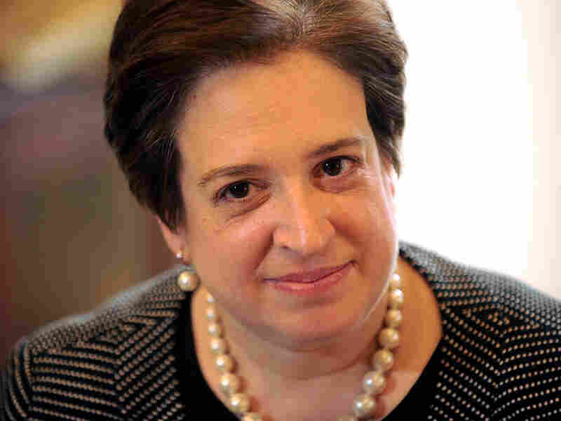 U.S. Supreme Court nominee Elena Kagan on Capitol Hill on May 13.