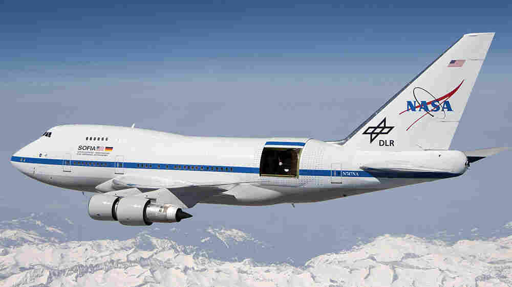 SOFIA made its first in-flight observations in May.