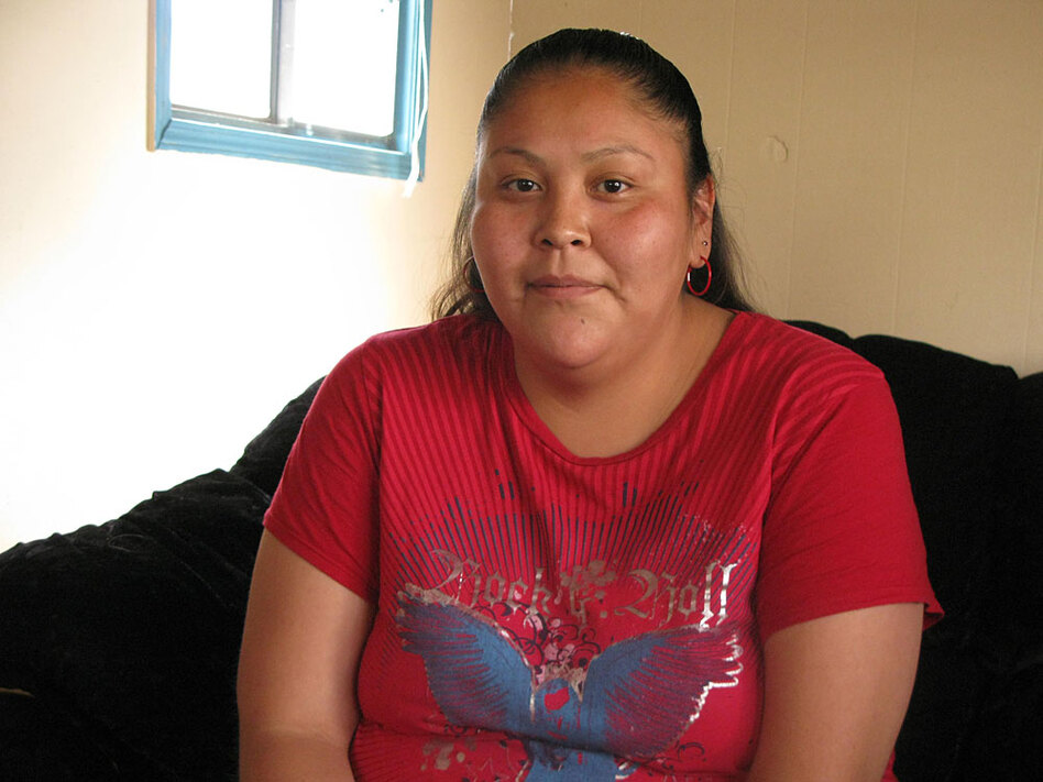 Arnelda Hatale, a member of the Navajo tribe living in Cortez, Colo., dropped out of high school. But she later got her GED, thanks to a local adult education course.