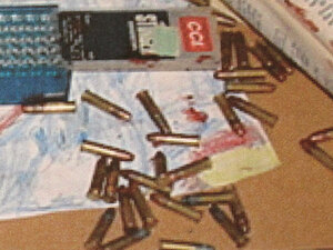 Bullets found at the crime scene the night Bradley Waldroup shot and killed his wife's friend.