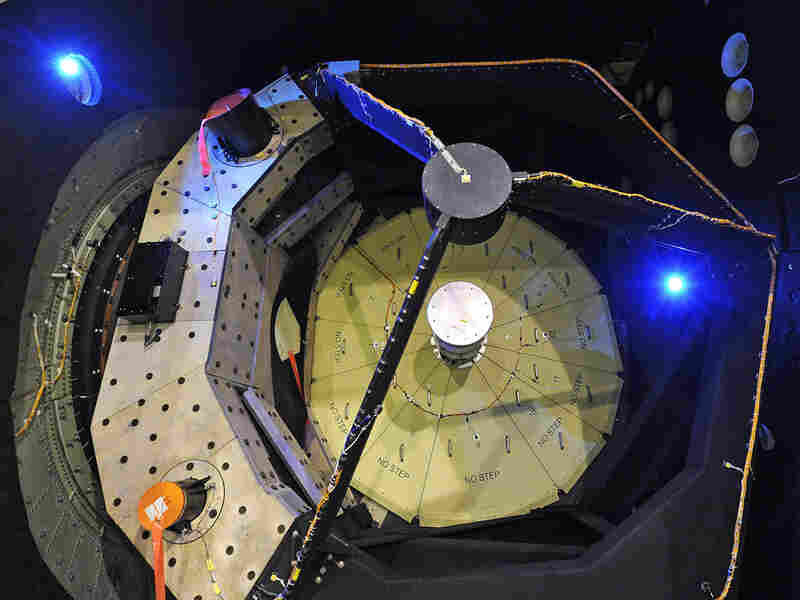 The SOFIA telescope captures infrared images telescopes on the ground can't.