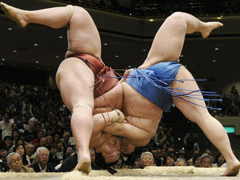Sumo Wrestling Grapples With Gambling Scandal : NPR