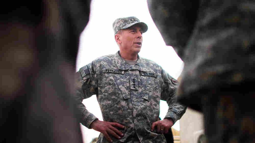 Gen. David Petraeus, as head of U.S. Central Command, in Afghanistan last October