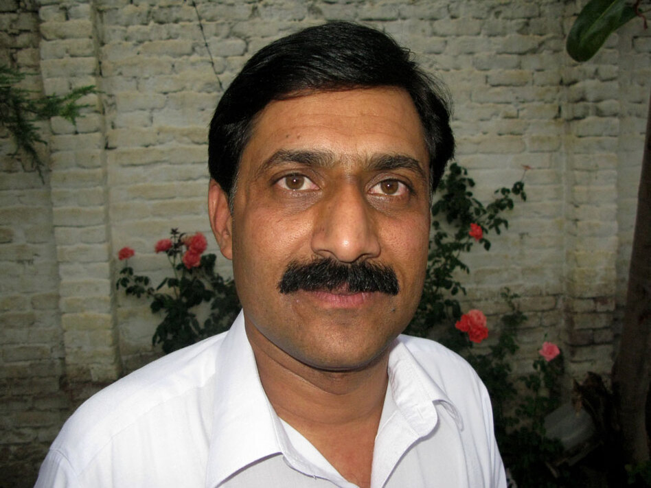 "Human rights advocate Zia Uddin Yousafzai says the practice of collectively punishing the families of militants is ""against morality, against humanity and against the norms ... of the state."" He says the elders of local <em>jirgas</em> who have voted to oust entire families are out of step with the ordinary citizens of Swat."