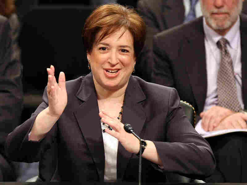 Supreme Court nominee Elena Kagan answers questions.