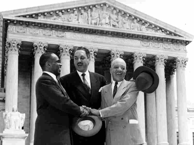 George E.C. Hayes, Thurgood Marshall and James M. Nabrit