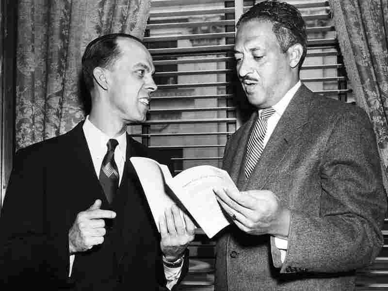 Thurgood Marshall with Spottswood W. Robinson III