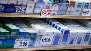 Cigarettes for sale in New York City