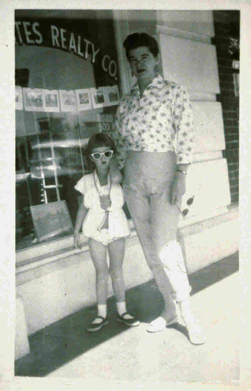 Deborah Luster and her mother