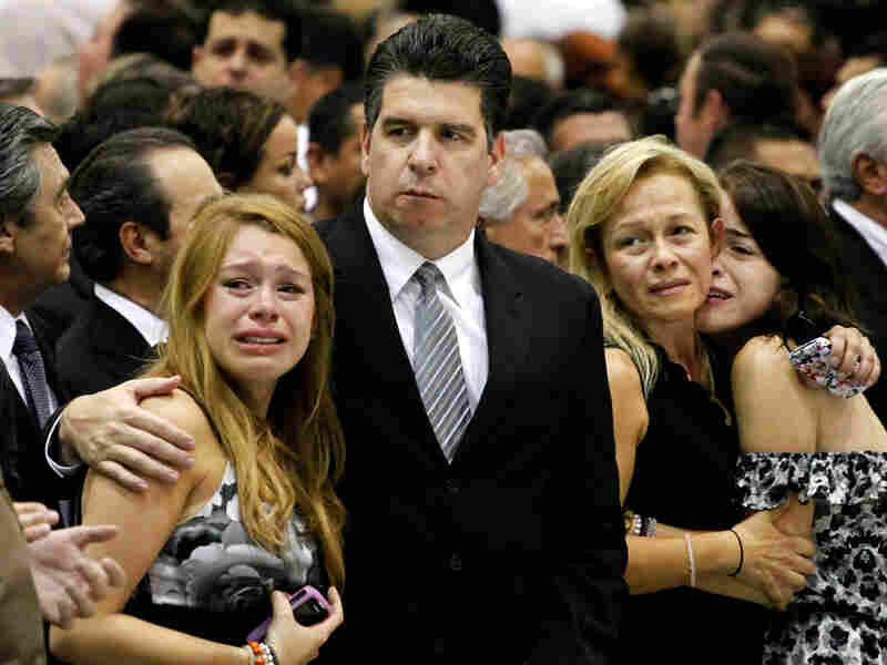 Relatives and friends of Rodolfo Torre