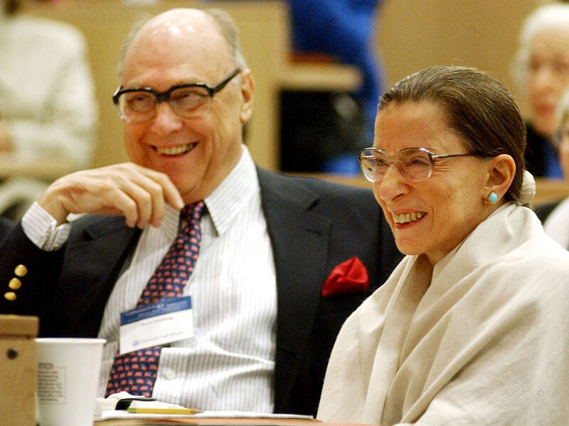 Martin Ginsburg S Legacy Love Of Justice Ginsburg Npr