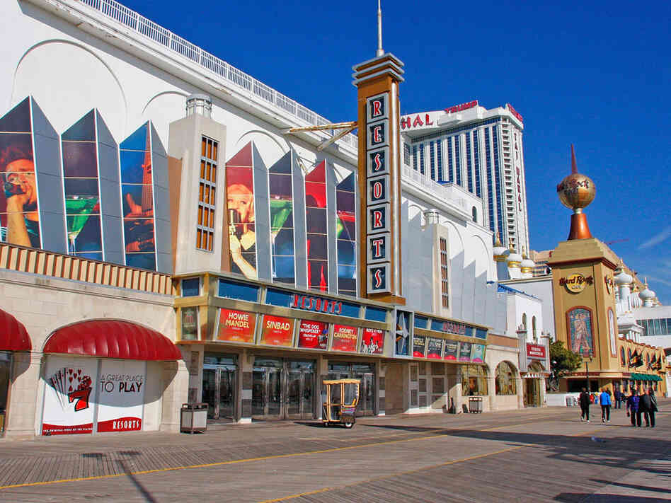Resorts Casino, pictured in January, is a struggling casino in Atlantic City.