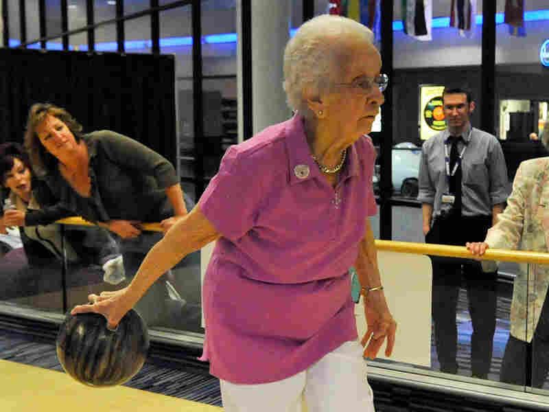Emma Hendrickson is the oldest competitor in the U.S. Bowling Congress Women's Championships.