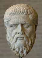 A bust of Plato. Wikimedia Commons