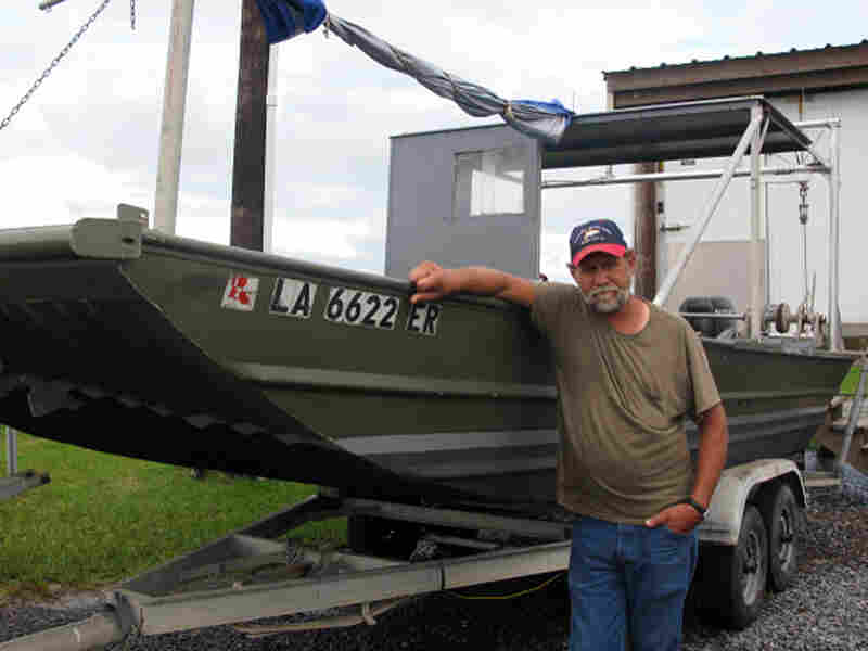 Al Cassagne, a commercial fisherman who lives just outside of Grand Isle, La.