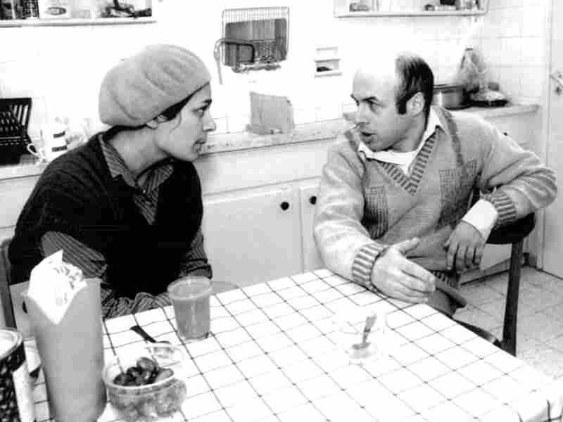 Sharansky and his wife, Avital, in their Jerusalem home in 1986, shortly after his release.