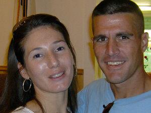 Garet Mones and his fiance Carmen Mackles
