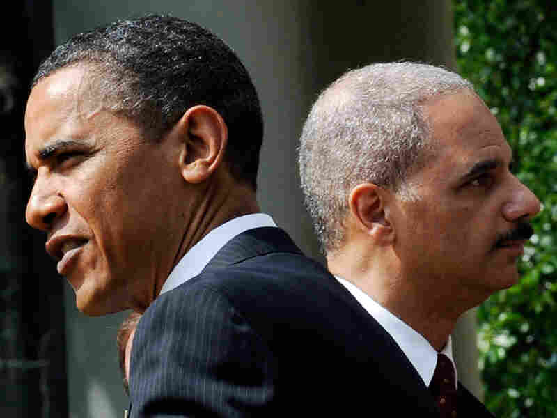 President Obama and Attorney General Eric Holder