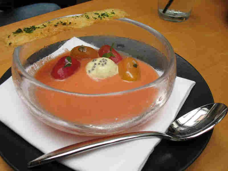 Chef Weland's gazpacho