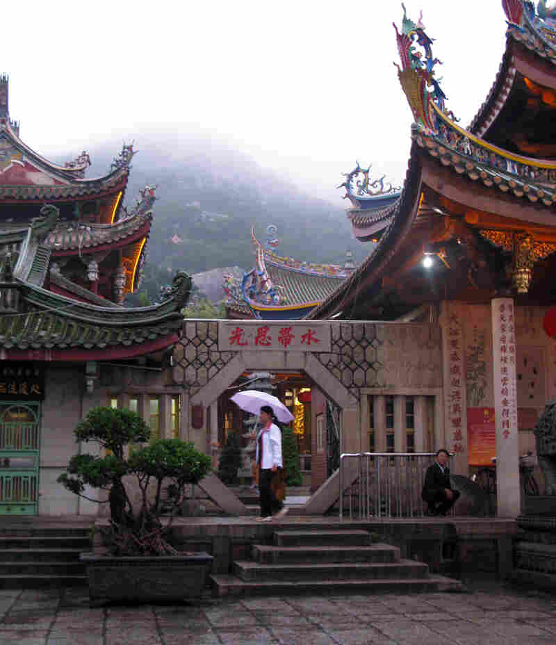 The Nanputo Buddhist temple