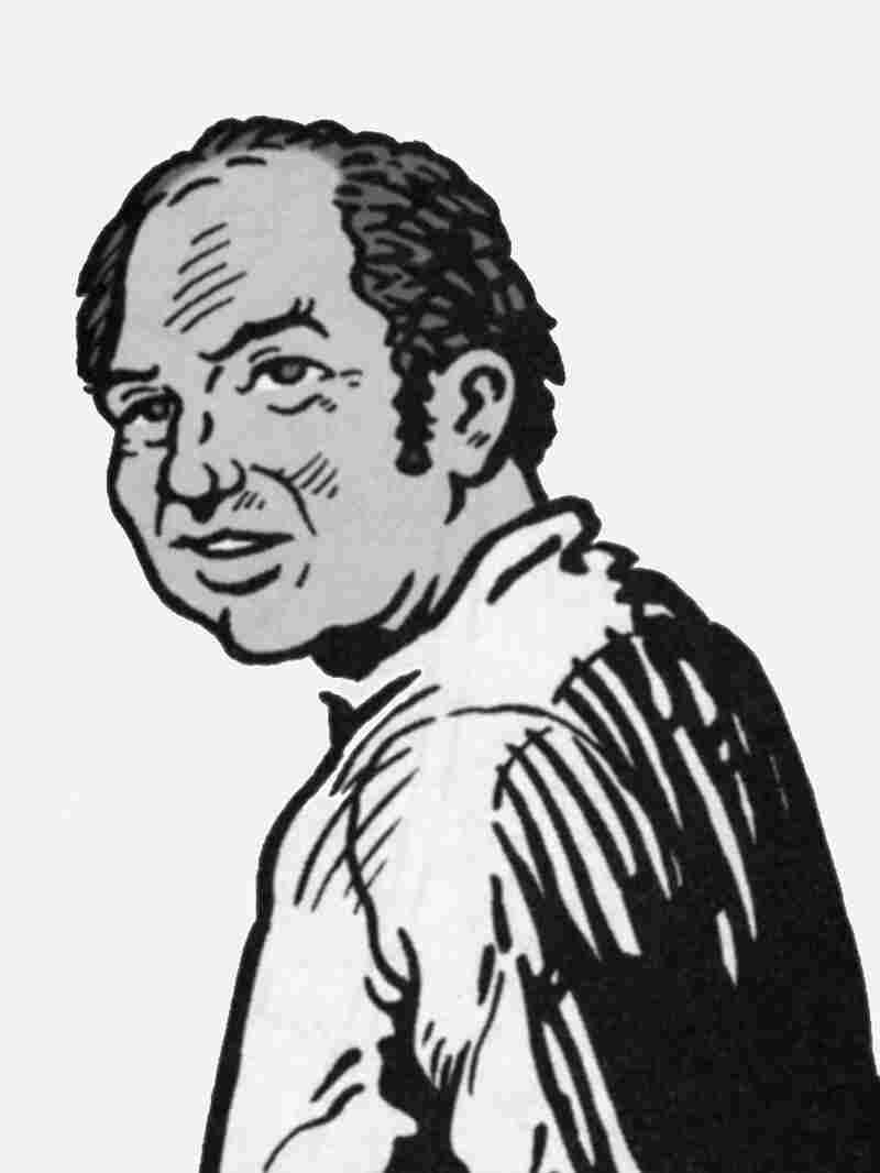 Comic version of Harvey Pekar