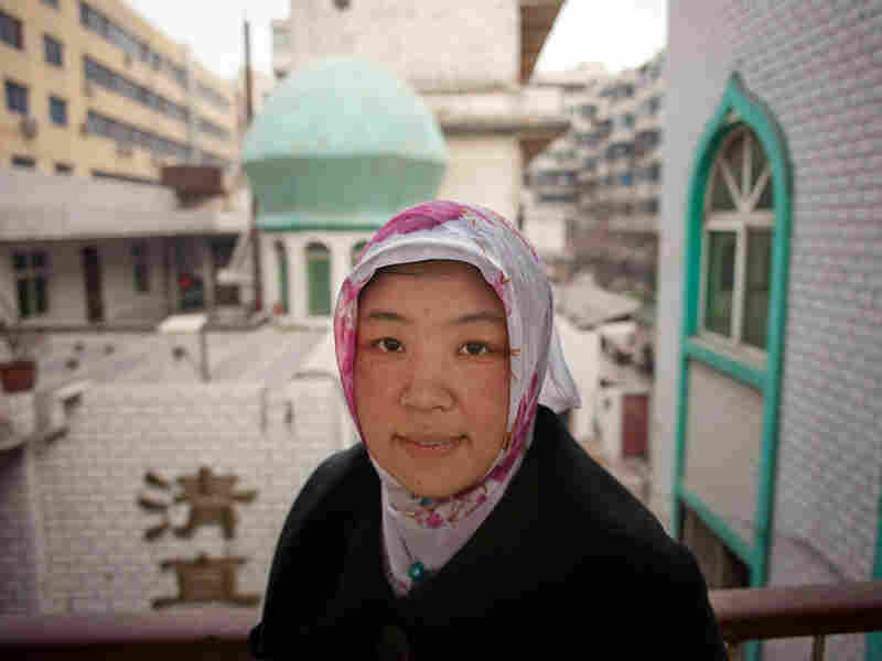 Bai Yanlian studied for seven years to become an imam