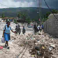 Haitians Press On Amid Slow Pace Of Quake Recovery