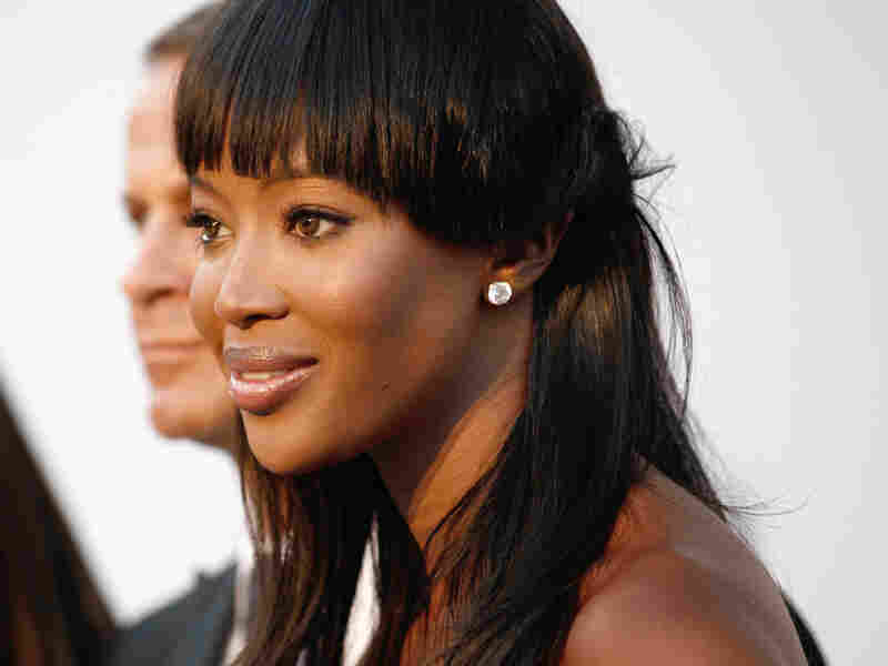 Naomi Campbell at the amfAR Cinema Against AIDS benefit