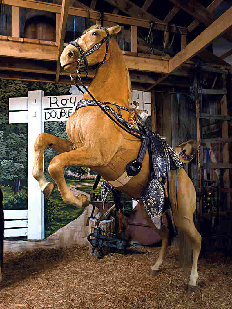 The horse Trigger was part of Roy Rogers' life for nearly three decades.